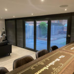 Inside Of Bi Folds Garden Bar
