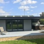 Large Composite Garden Room With Canopy