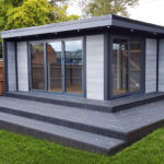 Large Decking Composite Garden Room