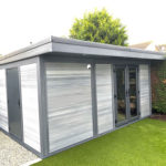 Light Grey Composite Garden Room