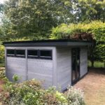 Light Grey Garden Office
