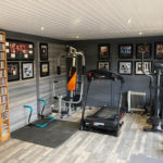 Light Grey Garden Room Corby Used As A Gym