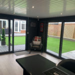 Medium Sized Garden Room Internal Full Height Glass 2