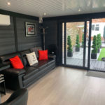 Medium Sized Garden Room Sliding Doors 2