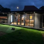 Night Time Garden Room Double Canopy Storage Space Insulated Roof