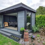 Non Rectangle Garden Room Lemington Spa