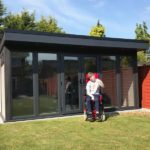 Satisfied Client With New Garden Room
