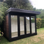 Small External Shot Of Outdoor Garden Room Left