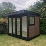 Small External Shot Of Outdoor Garden Room Right
