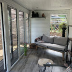 Small Garden Room Grey On White Internal