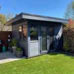 Small Garden Room In Grey