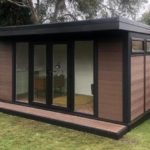 Walnut Double Door Composite Garden Building