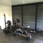 Weight Train From Garden Room