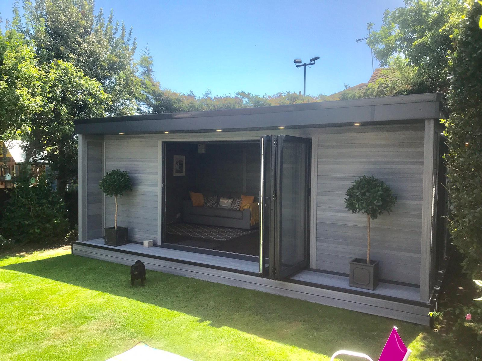 Authentic Timber Effect Garden Rooms Enfield