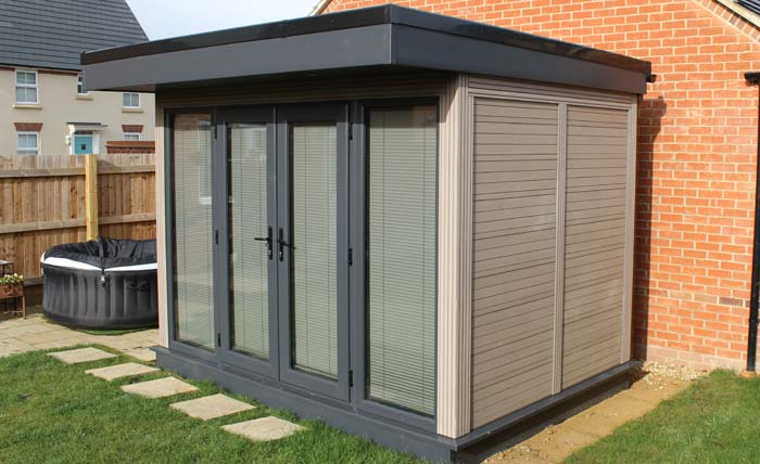 Authentic Timber Look Garden Rooms