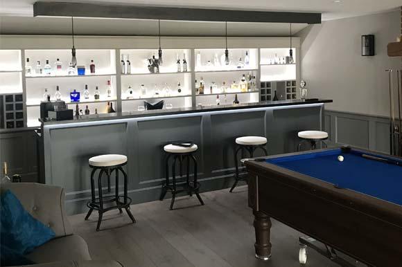 Composite Garden Bar Room