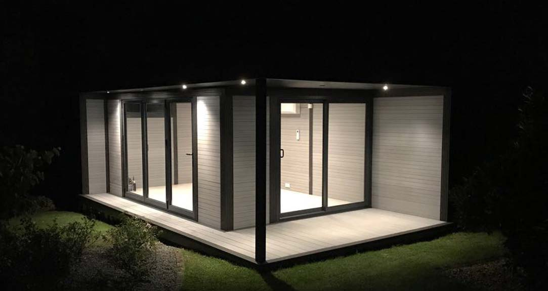 Garden Room At Night