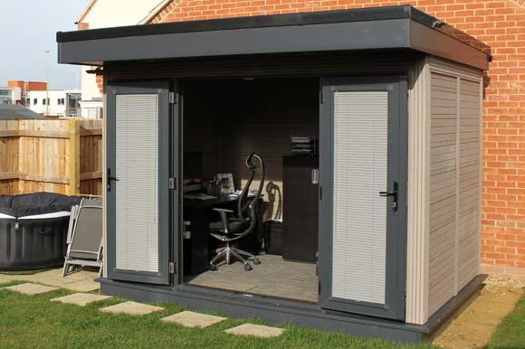 Composite Garden Offices