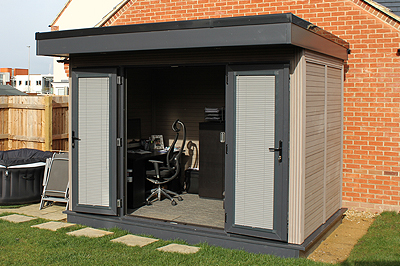 Small and compact Garden Office