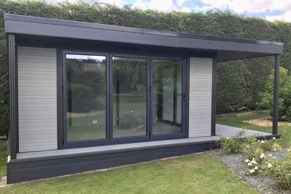 High Performance Composite Garden Rooms