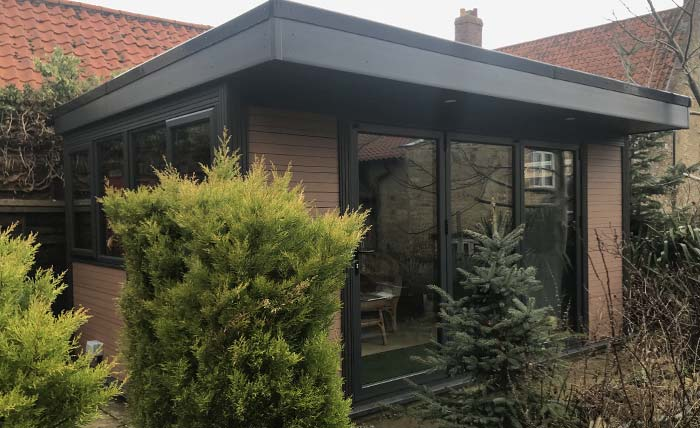 Timber Effect Garden Rooms