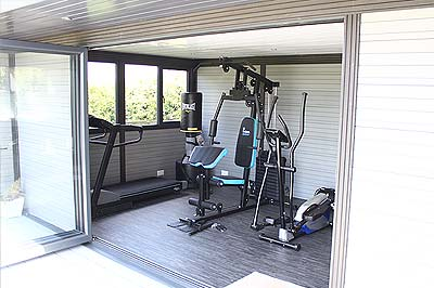 Gymnasium Garden Room Studio