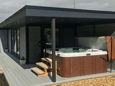 Hot Tub Garden Room From Composite Garden Buildings