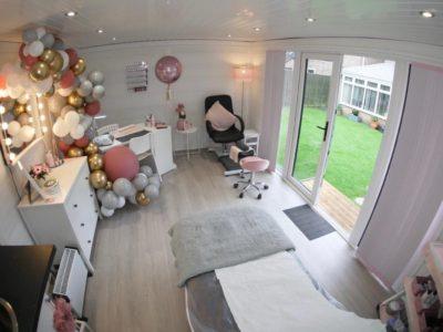 Composite Garden Room Beauticians In Bedford Inside Shot 1