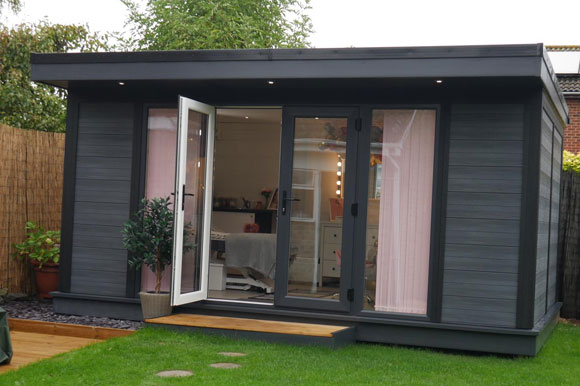 Garden Offices Used As A Beauty Parlour