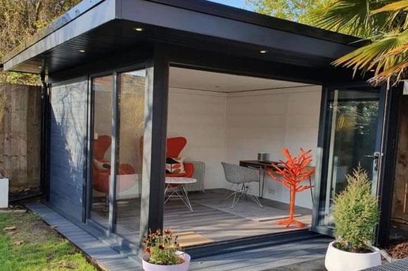 Garden Rooms With Full Open Bi Fold