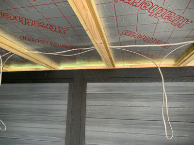 Insulated Roof On Garden Fitness Centre Northampton