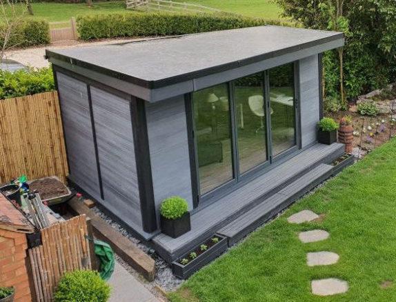 Non Square Bespoke Garden Room