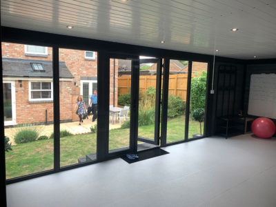 Northampton Garden Fitness With Glass Front Double Doors