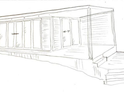 Garden Room Sketch Concept