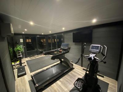 Home Garden Gym Huntingdon At Night