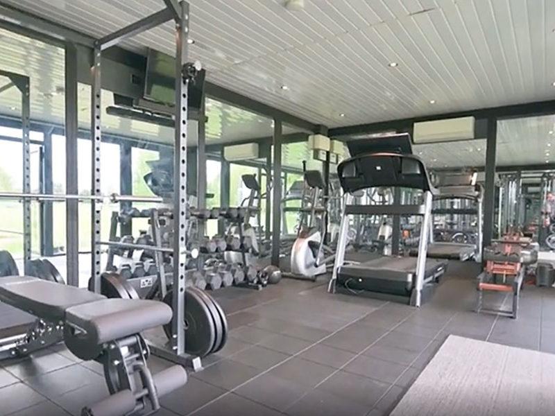 Home Gym Garden Room